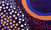 Aboriginal Style of Dot Painting Presentation Presentation Template