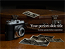 Vintage Photo Camera Beside Photos Presentation slide 1