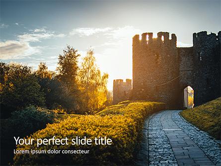 Medieval Fortress Presentation Presentation Template, Master Slide