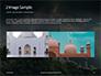 Suleymaniye Mosque under Dramatic Sky Presentation slide 11