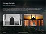 Suleymaniye Mosque under Dramatic Sky Presentation slide 12