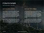 Suleymaniye Mosque under Dramatic Sky Presentation slide 5