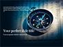 Financial Newspaper and Compass Presentation slide 1