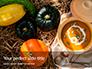 Vegetarian Autumn Pumpkin Cream Soup Presentation slide 1
