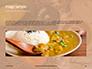 Vegetarian Autumn Pumpkin Cream Soup Presentation slide 10
