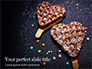 Waffles with Chocolate Topping Presentation slide 1