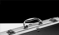 Aluminium Briefcase Presentation Presentation Template
