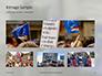European Union Flag Flying on Downing Street Presentation slide 13