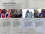 European Union Flag Flying on Downing Street Presentation slide 16