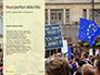 European Union Flag Flying on Downing Street Presentation slide 9