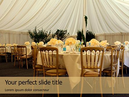 Wedding Catering Presentation Presentation Template, Master Slide