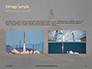 Space Shuttle Lifting Off Presentation slide 12