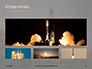 Space Shuttle Lifting Off Presentation slide 13