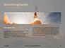 Space Shuttle Lifting Off Presentation slide 14