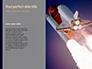 Space Shuttle Lifting Off Presentation slide 9