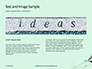 A Person's Hand Writing on Paper Be Creative Presentation slide 14