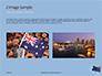 Australian Flag Waving on the Wind Presentation slide 11