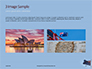 Australian Flag Waving on the Wind Presentation slide 12