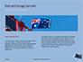 Australian Flag Waving on the Wind Presentation slide 14