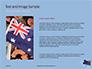 Australian Flag Waving on the Wind Presentation slide 15