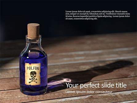 Small Bottle of Poison Presentation Presentation Template, Master Slide