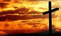 Three Crosses On Hill Presentation Presentation Template