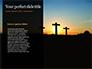 Three Crosses On Hill Presentation slide 9