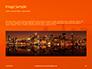 Urban Sunset Skyline Presentation slide 10