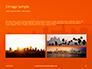 Urban Sunset Skyline Presentation slide 12