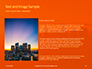 Urban Sunset Skyline Presentation slide 15