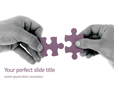 Creating Meaningful Connections Presentation Presentation Template, Master Slide