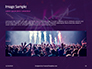 Cheering Crowd at a Rock Concert Presentation slide 10