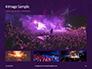 Cheering Crowd at a Rock Concert Presentation slide 13