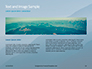 Panoramic Mountains in Blue Mist Presentation slide 14