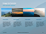 Panoramic Mountains in Blue Mist Presentation slide 16