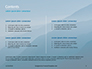 Panoramic Mountains in Blue Mist Presentation slide 2