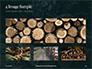 Pile of Wood Logs Presentation slide 13