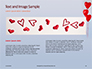 Heart Shaped Balloons Presentation slide 14