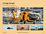 Helicopter in Yellow Sky Presentation slide 13