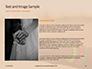 Wedding Bands on Person's Hand Presentation slide 15