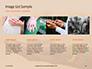 Wedding Bands on Person's Hand Presentation slide 16