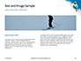 Skier Skiing Downhill During Sunny Day in High Mountains Presentation slide 14
