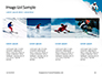 Skier Skiing Downhill During Sunny Day in High Mountains Presentation slide 16