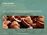 Walnuts Scattered from Burlap Bag on Wooden Table Presentation slide 10