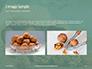 Walnuts Scattered from Burlap Bag on Wooden Table Presentation slide 11