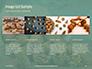Walnuts Scattered from Burlap Bag on Wooden Table Presentation slide 16