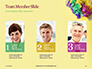 Festive Mask with Decor on Yellow Background Presentation slide 19