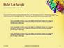 Festive Mask with Decor on Yellow Background Presentation slide 7