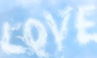Love Shaped Clouds Presentation Presentation Template