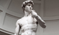 David is a Masterpiece of Created in Marble by Michelangelo Presentation Presentation Template